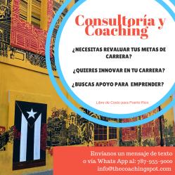 ¡COnsultoria y coaching para ti!