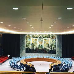 Consejo de la Cámara de Seguridad. Este fue un regalo de Norway a las Naciones Unidas